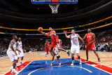 Los Angeles Clippers v Philadelphia 76ers: Brian Cook Photographic Print by Jesse D. Garrabrant