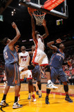 Charlotte Bobcats v Miami Heat: Udonis Haslem Photographic Print by Andrew Bernstein