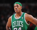 Boston Celtics v Philadelphia 76ers: Paul Pierce Photographic Print by Jesse D. Garrabrant