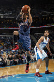 Charlotte Bobcats v New Orleans Hornets: D.J. Augustin Photographic Print by Layne Murdoch