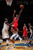 Philadelphia 76ers v Washington Wizards: Thadeus Young and Andray Blatche Photographic Print by Ned Dishman