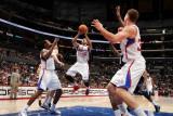 Memphis Grizzlies v Los Angeles Clippers: Eric Gordon Photographic Print by Noah Graham