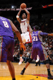 Phoenix Suns v Miami Heat: Chris Bosh Photographic Print by Andrew Bernstein