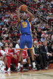 Golden State Warriors v Houston Rockets: Reggie Williams Photographic Print by Bill Baptist
