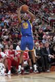 Golden State Warriors v Houston Rockets: Reggie Williams Photographic Print by Bill Baptist