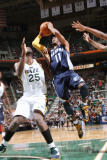 Memphis Grizzlies v Utah Jazz: Mike Conley and Al Jefferson Photographic Print by Melissa Majchrzak