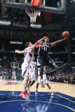 Memphis Grizzlies v Atlanta Hawks: Mike Conley and Zaza Pachulia Photographic Print by Scott Cunningham