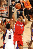 Los Angeles Clippers v Phoenix Suns: Eric Gordon and Channing Frye Photographic Print by Barry Gossage