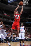 New Jersey Nets v Philadelphia 76ers: Kris Humphries Photographic Print by Jesse D. Garrabrant