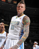 Los Angeles Clippers v Denver Nuggets: Chris Andersen Photographic Print by Garrett Ellwood