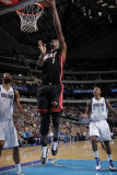Miami Heat v Dallas Mavericks: Chris Bosh and Tyson Chandler Photographic Print by Glenn James