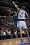 New Orleans Hornets v Dallas Mavericks: Chris Paul and Jason Kidd Photographic Print by Glenn James