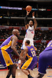 Los Angeles Lakers v Los Angeles Clippers: Rasual Butler Photographic Print by Noah Graham