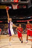 Portland Trail Blazers v Phoenix Suns: Steve Nash Photographic Print by Barry Gossage