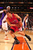 Los Angeles Clippers v Phoenix Suns: Blake Griffin and Hakim Warrick Photographic Print by Barry Gossage