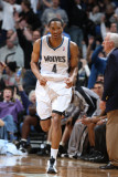 San Antonio Spurs v Minnesota Timberwolves: Wesley Johnson Photographic Print by David Sherman