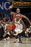 Chicago Bulls v Cleveland Cavaliers: Daniel Gibson and Taj Gibson Photographic Print by David Liam Kyle