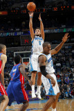 Detroit Pistons v New Orleans Hornets: Marco Belinelli and Ben Gordon Photographic Print by Layne Murdoch