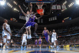 Phoenix Suns v Denver Nuggets: Jason Richardson and Chris Andersen Photographic Print by Garrett Ellwood