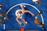 New Orleans Hornets v Los Angeles Clippers: Chris Paul and Blake Griffin Photographic Print by Andrew Bernstein
