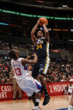 Utah Jazz v Los Angeles Clippers: C.J. Miles and Willie Warren Photographic Print by Noah Graham