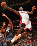 Charlotte Bobcats v Miami Heat: LeBron James Photo by Victor Baldizon