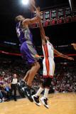 Phoenix Suns v Miami Heat: Grant Hill Photographic Print by Andrew Bernstein