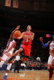 New Jersey Nets v New York Knicks: Devin Harris, Raymond Felton and Amare Stoudemire Photographic Print by Nathaniel S. Butler