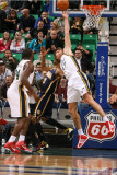 Indiana Pacers v Utah Jazz: Andrei Kirilenko and Danny Granger Photographic Print by Melissa Majchrzak