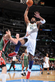Milwaukee Bucks v Denver Nuggets: Nene Photographic Print by Garrett Ellwood