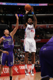 Sacramento Kings v Los Angeles Clippers: Rasual Butler and Francisco Garcia Photographic Print by Noah Graham