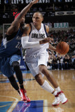 Minnesota Timberwolves v Dallas Mavericks: Shawn Marion and Corey Brewer Photographic Print by Glenn James