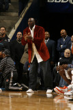 New York Knicks v Charlotte Bobcats: Michael Jordan Photographic Print by Kent Smith