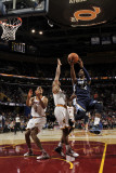 Memphis Grizzlies v Cleveland Cavaliers: O.J. Mayo, Ryan Hollins and Ramon Sessions Photographic Print by David Liam Kyle