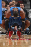 Orlando Magic v Chicago Bulls: Dwight Howard Photographic Print by Gary Dineen