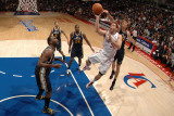 Utah Jazz v Los Angeles Clippers: Blake Griffin and Andrei Kirilenko Photographic Print by Noah Graham