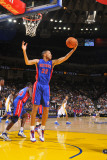 Detroit Pistons v Golden State Warriors: Tayshaun Prince Photographic Print by Rocky Widner
