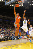 Phoenix Suns v Golden State Warriors: Grant Hill and Dorell Wright Photographic Print by Rocky Widner