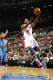 Washington Wizards v Detroit Pistons: Rodney Stuckey Photographic Print by Allen Einstein