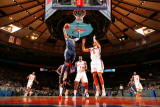 Denver Nuggets v New York Knicks: Carmelo Anthony and Landry Fields Photographic Print by Nathaniel S. Butler