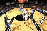 Dallas Mavericks v San Antonio Spurs: Shawn Marion and Matt Bonner Photographic Print by D. Clarke Evans
