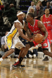 Los Angeles Clippers v Indiana Pacers: T. J. Ford and Eric Bledsoe Photographic Print by Ron Hoskins