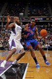 New York Knicks v Sacramento Kings: Amare Stoudemire and Darnell Jackson Photographic Print by Rocky Widner