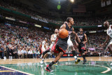Miami Heat v Utah Jazz: Mario Chalmers Photographic Print by Melissa Majchrzak