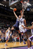 Indiana Pacers v Sacramento Kings: Josh McRoberts and Carl Landry Photographic Print by Rocky Widner
