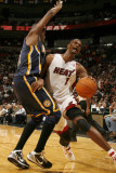 Indiana Pacers v Miami Heat: Chris Bosh Photographic Print by Issac Baldizon