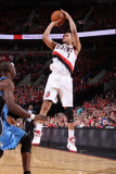 Orlando Magic v Portland Trail Blazers: Brandon Roy Photographic Print by Sam Forencich