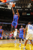 Detroit Pistons v Golden State Warriors: Rodney Stuckey Photographic Print by Rocky Widner