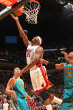 New Orleans Hornets v Miami Heat: Erick Dampier Photographic Print by Victor Baldizon