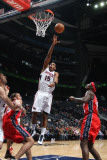 New Jersey Nets v Atlanta Hawks: Al Horford Photographic Print by Scott Cunningham